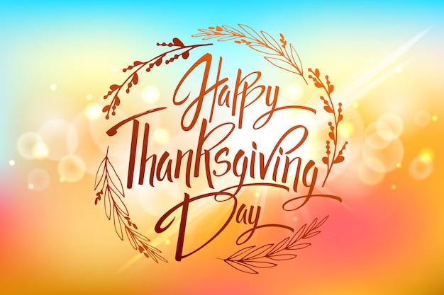 Kartkę z życzeniami happy thanskgiving day