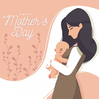 Kartkę z życzeniami na dzień matki