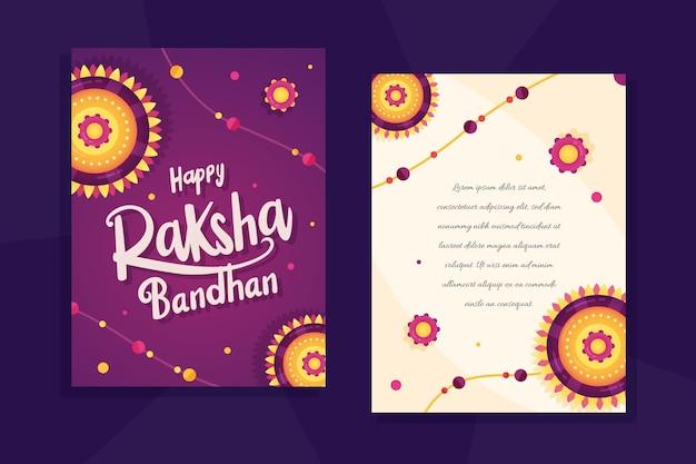Kartkę z życzeniami raksha bandhan