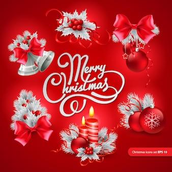 Kartkę z życzeniami świątecznymi. ilustracja wektorowa eps 10