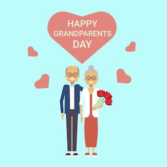 Kartkę z życzeniami szczęśliwego dnia dziadków