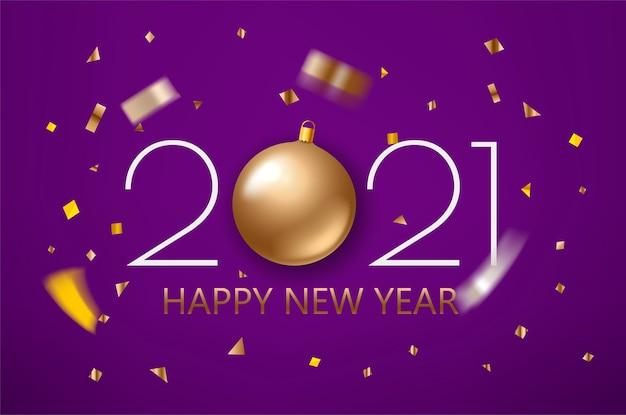 Kartkę Z życzeniami Szczęśliwego Nowego Roku Premium Wektorów