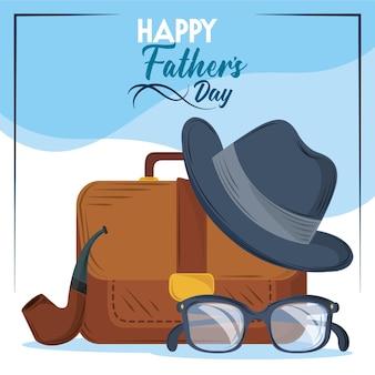 Kartkę z życzeniami szczęśliwego ojca