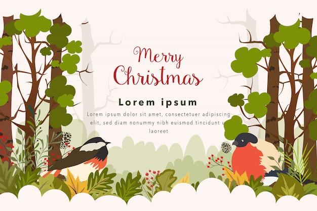 Kartkę z życzeniami wesołych świąt