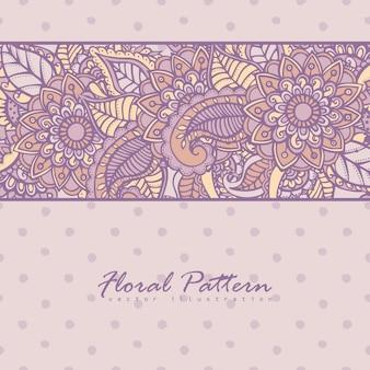 Kartkę z życzeniami z kwiatami