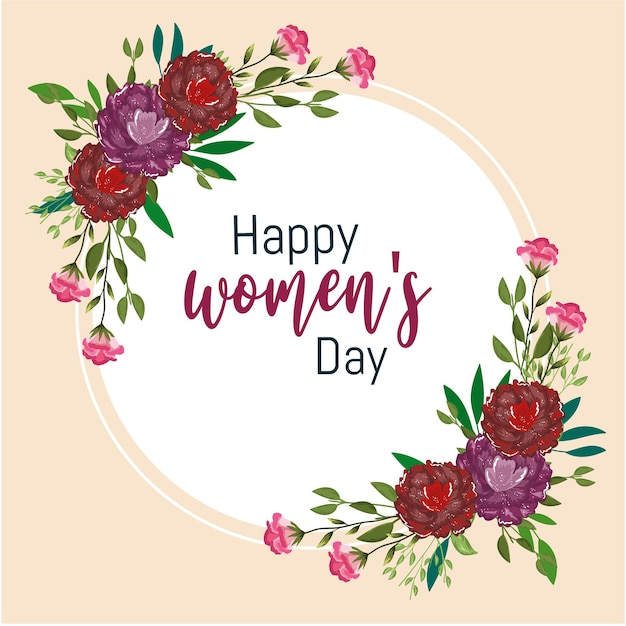 Kartkę z życzeniami z okazji dnia kobiet