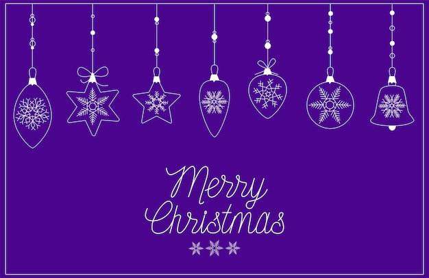 Kartki świąteczne i noworoczne na niebieskim tle
