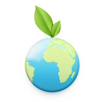 Kartografia streszczenie ikona tło eko