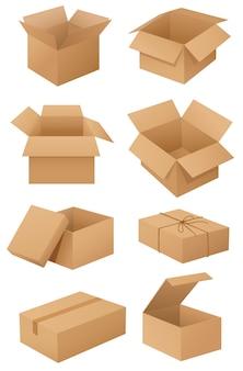 Kartony Darmowych Wektorów