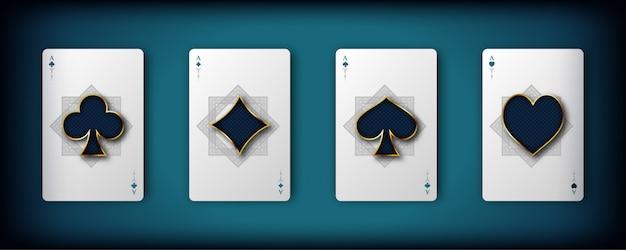 Karty do gry w kasynie