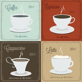 Karty do kawy