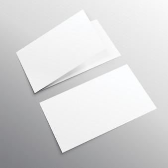 Karty korporacyjne, makiety