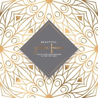 Karty lub zaproszenia ze wzorem mandali
