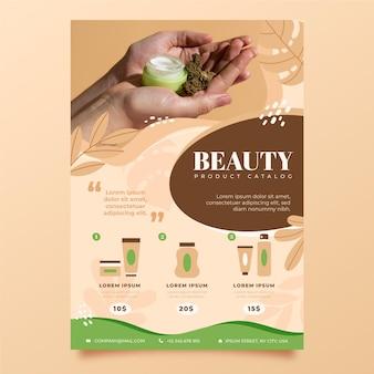Katalog produktów kosmetycznych dla różnych kosmetyków