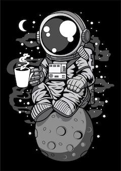 Kawa astronauta