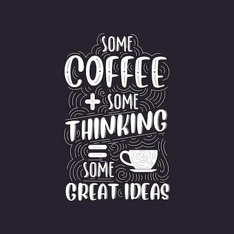 Kawa cytuje piękny projekt napisów