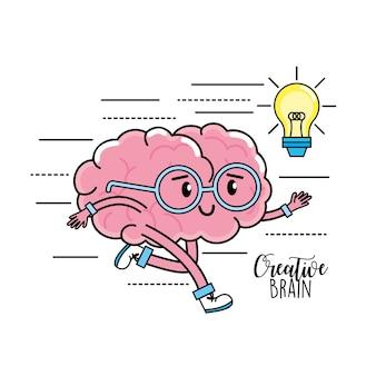 Kawa mentalność psychiczna do kreatywnego projektowania procesów