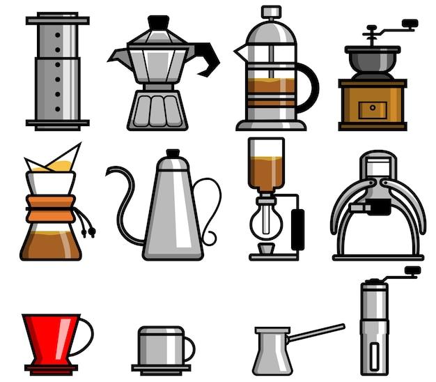 Kawa ręcznie brewers