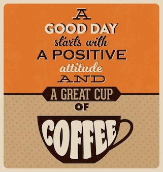 Kawa tle projektowania