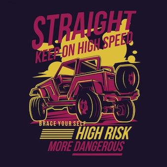 Keep straight