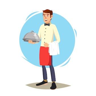 Kelner w kawiarni
