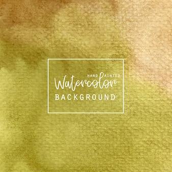 Khaki tło greenwatercolor