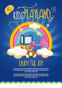 Kids playland flyer