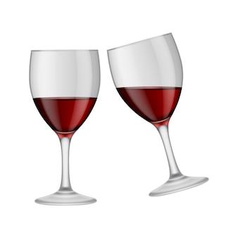 Kieliszki do wina projekt