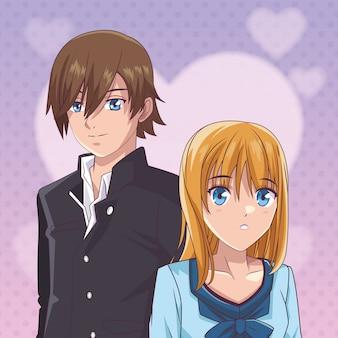 Kilka anime manga