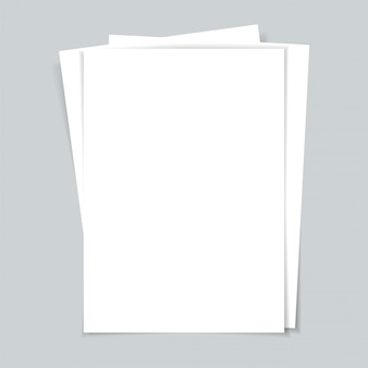 Kilka dokumentów. kartki papieru.