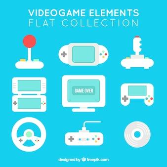 Kilka obiektów do gier wideo