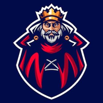 King of the ancient emperor maskotka logo