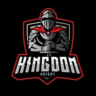 Kingdom knight maskotka logo esports