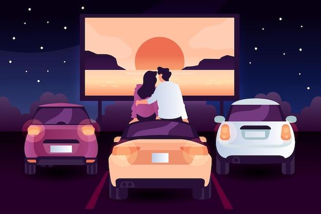 Kino samochodowe