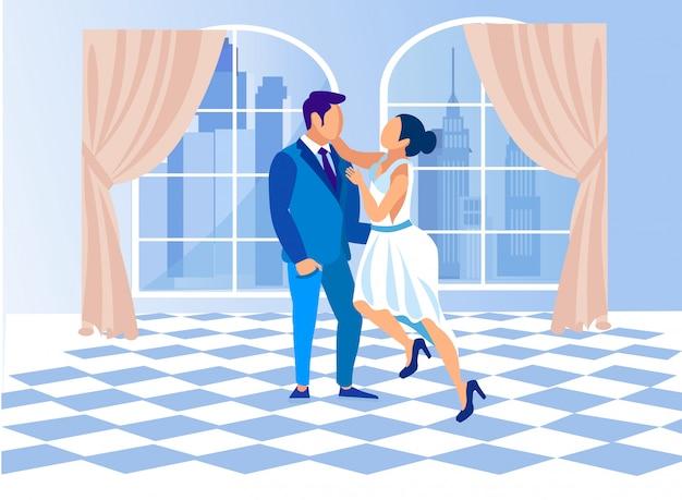 Klasa taneczna dla kobiet i mężczyzn