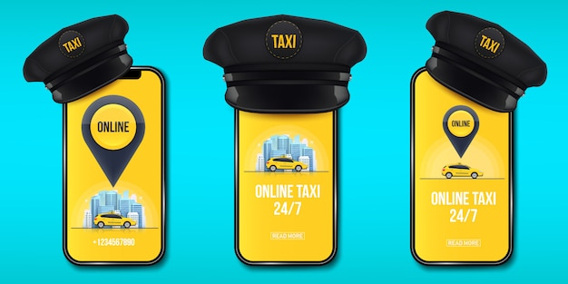 Klasyczna czapka taksówkarza retro z daszkiem.