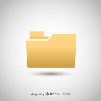 Klasyczna ikona folderu