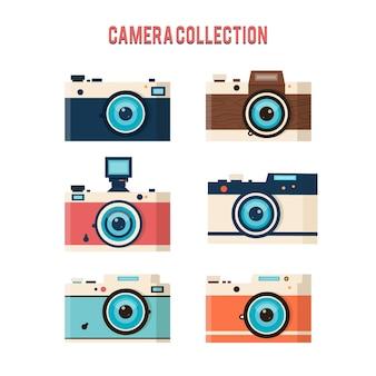 Klasyczna kolekcja aparatów fotograficznych