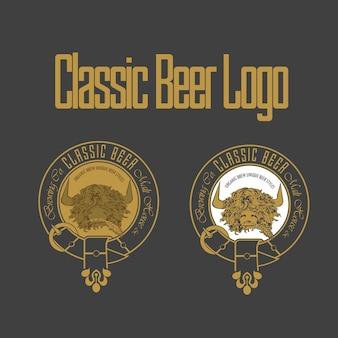 Klasyczne logo piwa