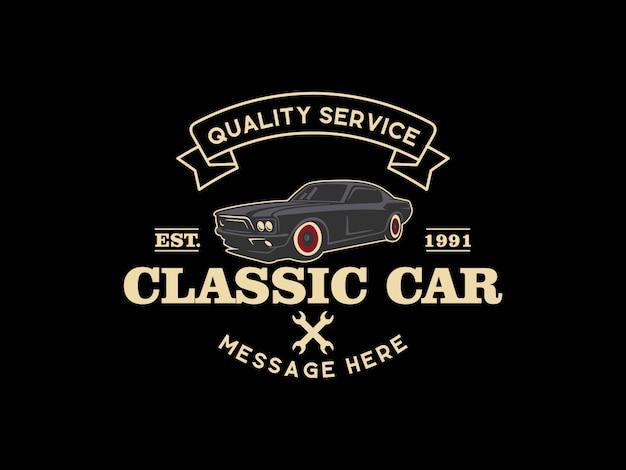 Klasyczne logo samochodu