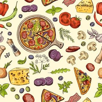 Klasyczne włoskie jedzenie