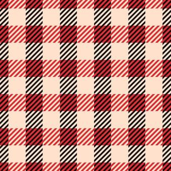 Klasyczne wzory w kratę i bawole sprawdzają się w kratę.