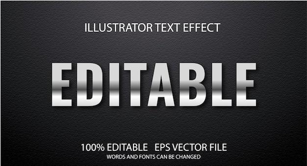 Klasyczny efekt tekstowy 3d z łatwym do edycji dla wszystkich projektów
