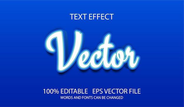 Klasyczny Efekt Tekstowy 3d Z łatwym Do Edycji Dla Wszystkich Projektów Premium Wektorów