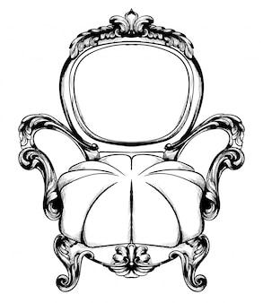 Klasyczny fotel