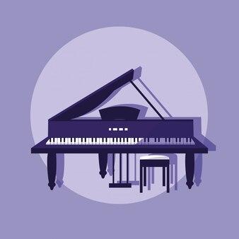 Klasyczny instrument fortepianowy
