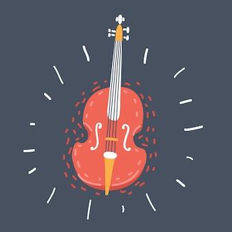 Klasyczny Instrument Muzyczny Premium Wektorów