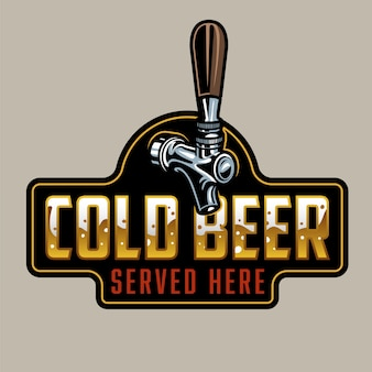 Klasyczny kran do piwa