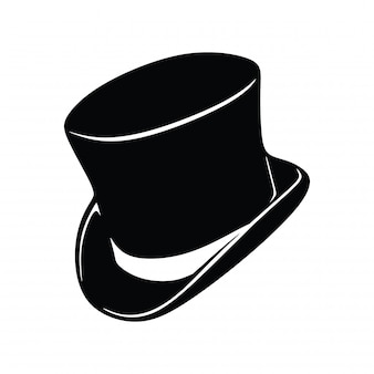 Klasyczny magiczny kapelusz