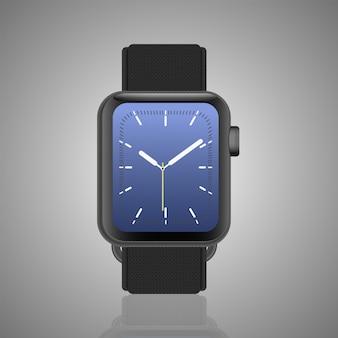 Klasyczny męski zegarek ze szczegółami.